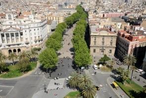 Ulice Las Ramblas