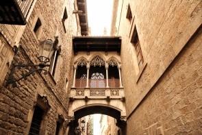 Čtvrť Barrio Gotico
