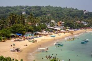 Pláž Unawatuna