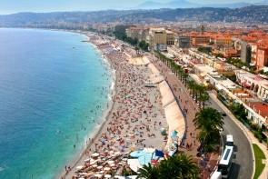 Modrá pláž