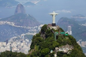 Hora Corcovado a Socha Krista Spasitele