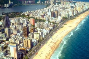 Čtvrť a pláž Ipanema