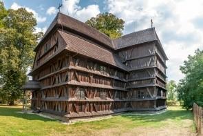 Dřevěný artikulární kostel Hronsek