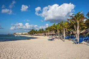 Pláž Playa del Carmen