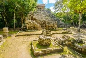 Vesnice Coba Mayan