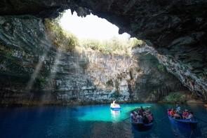 Jeskyně Melissani