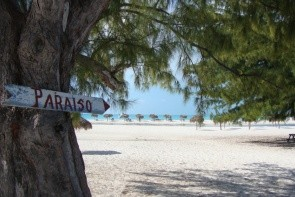 Pláž Playa Paraiso