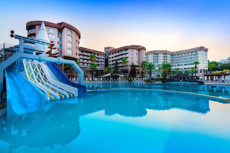Hotel Arycanda De Luxe, Alanya, Okurcalar