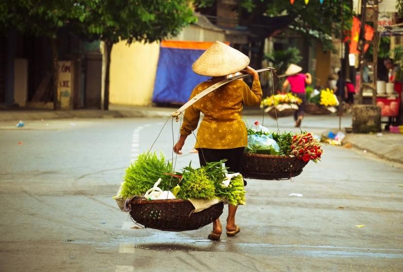Život v ulicích Hanoie