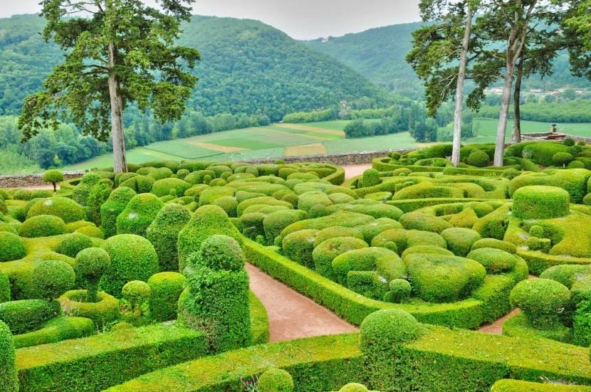 Zahrady Marqueyssac