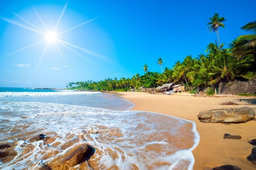 Široké písečné pláže