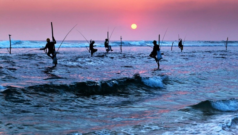 Neobvyklý způsob rybolovu