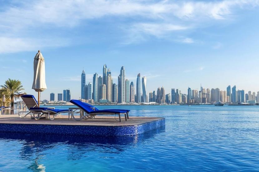 Výhled na Dubaj