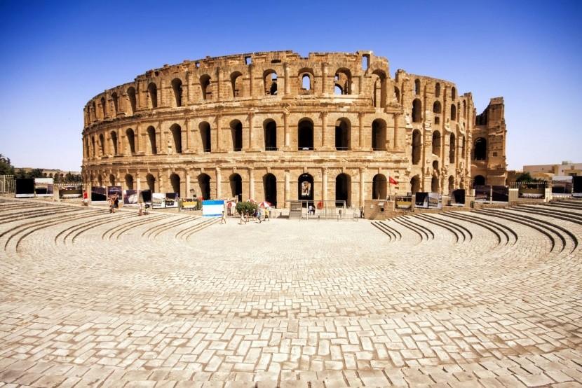 Koloseum v El Jem