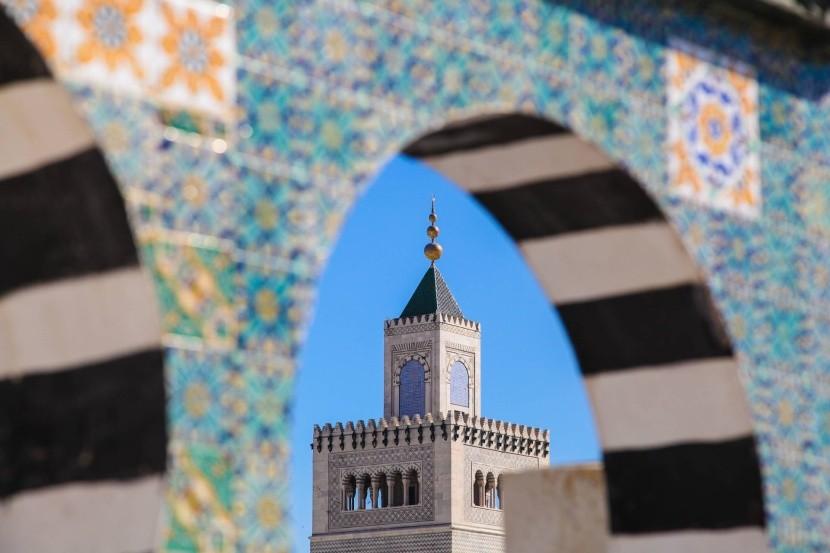 Medina ve městě Tunis