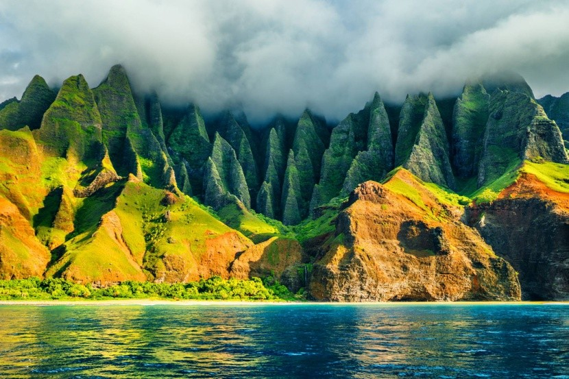 Ostrov Kauai, Havaj, USA