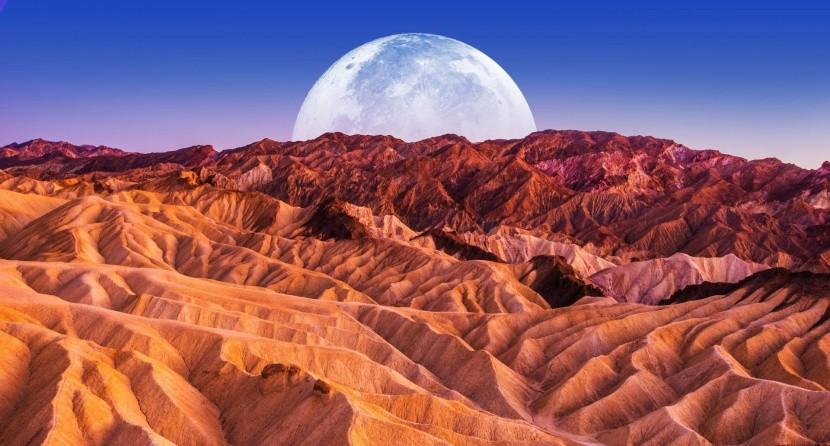 Death Valley, Kalifornie, USA