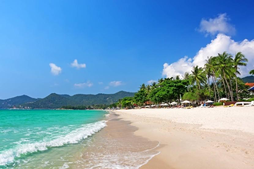 Pláž Chaweng, Koh Samui