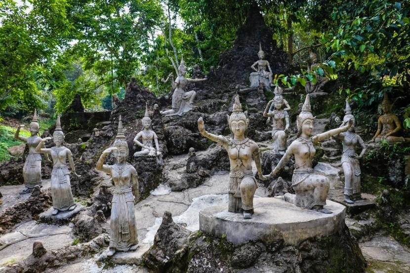 Buddhova zahrada na Koh Samui