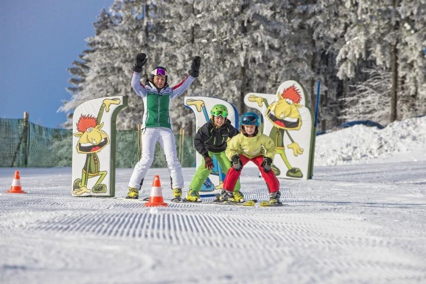 Dětský park ve skiareálu Hochficht