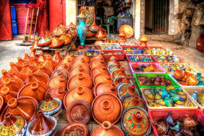 Hrnce tajine, Fes, Maroko