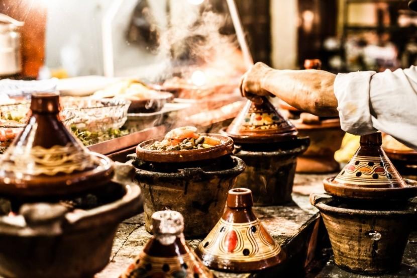 S tajine s v Maroku setkáte všude