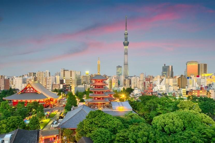 Největší město světa - Tokio, Japonsko