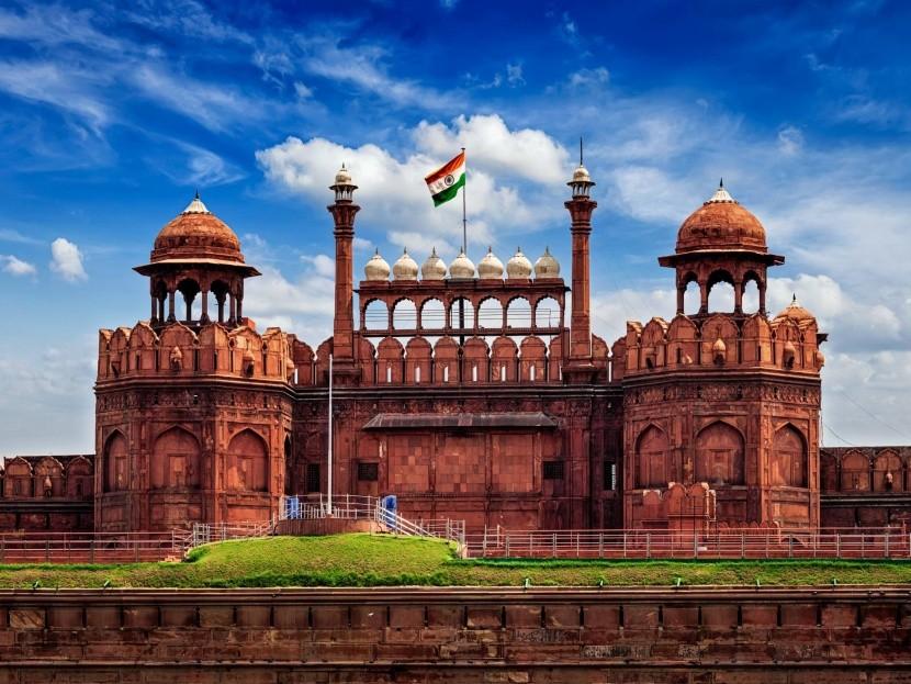 Červená pevnost, Dillí, Indie
