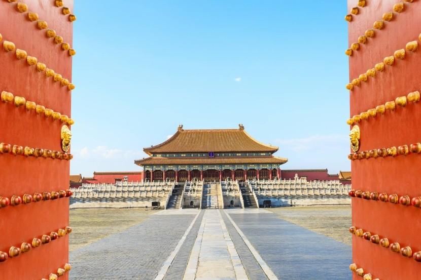 Zakázané město v Pekingu, Čína