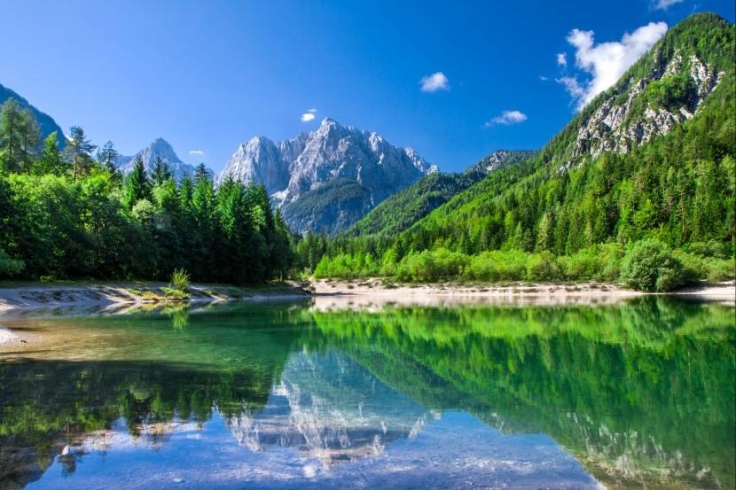 Národní park Triglav, Julské Alpy, Slovinsko