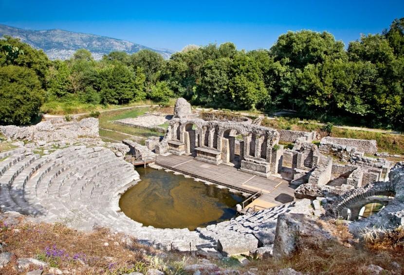 Amfiteátr v Butrintu