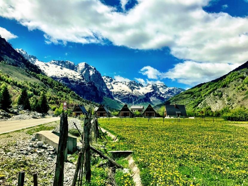 Údolí Valbona