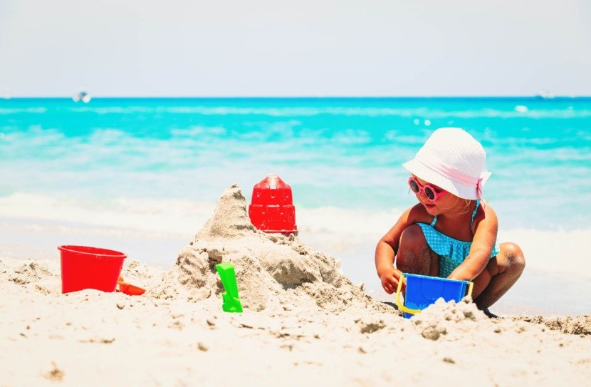 Slunečné pobřeží je jako stvořené pro děti