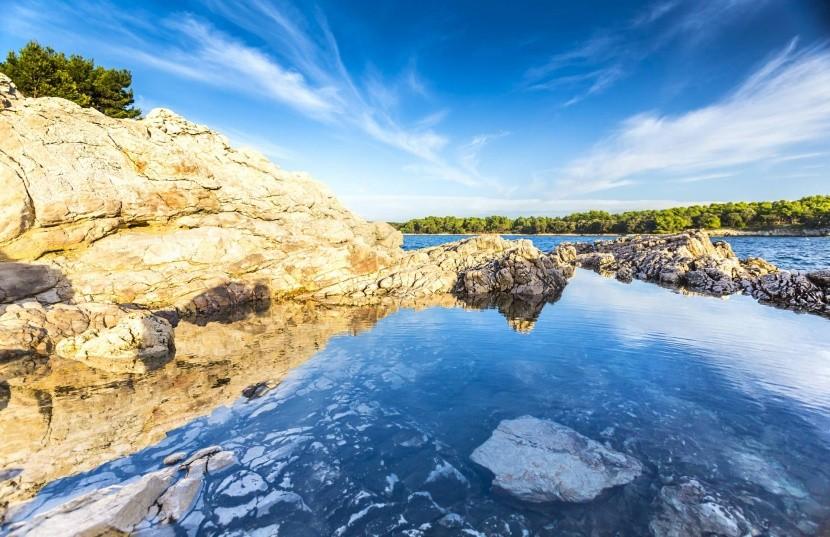 Pobřeží Istrie, Chorvatsko