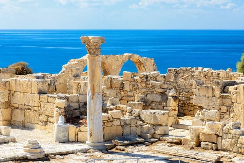 Archeologické naleziště Kourion, Kypr