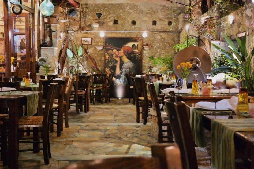 Taverna To Pigadi, Rethymno, Kréta
