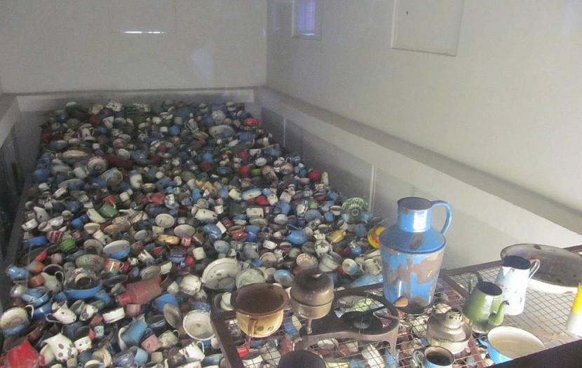 Muzeum v táboře Osvětim
