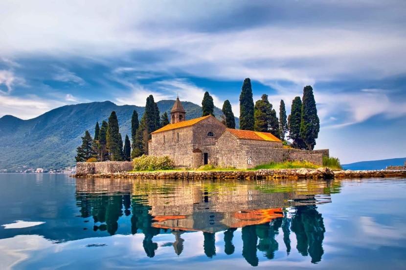 Ostrov sv. Jiří, Černá Hora