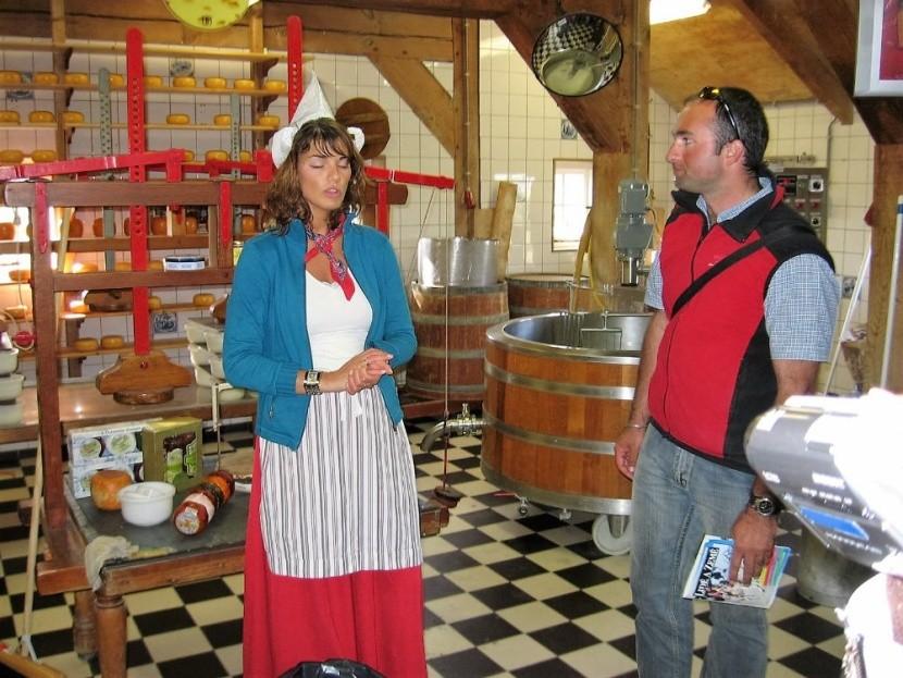 Sýrárna v Zaanse Schans