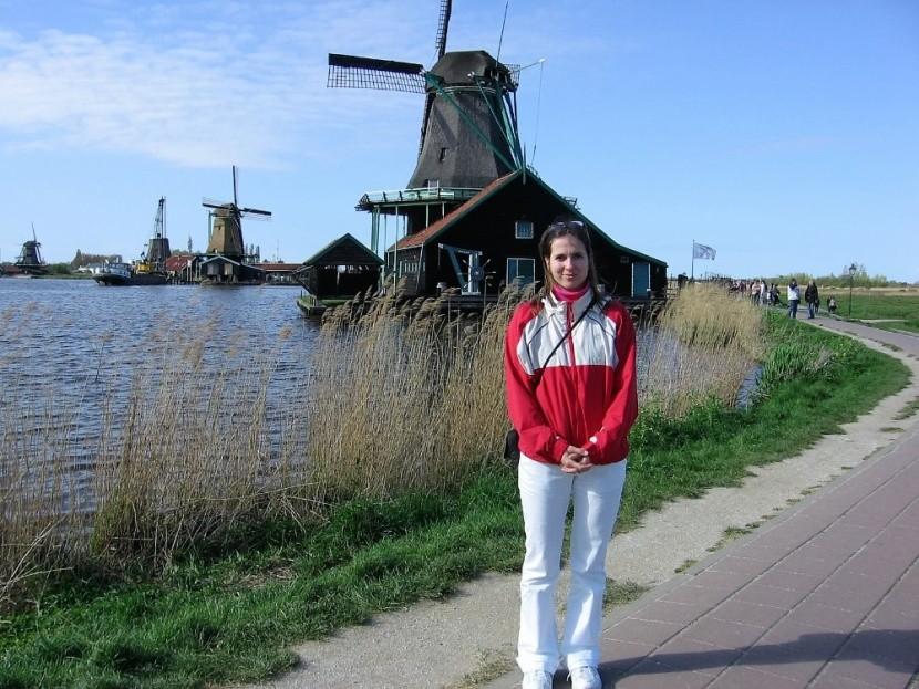 Typické větrné mlýny
