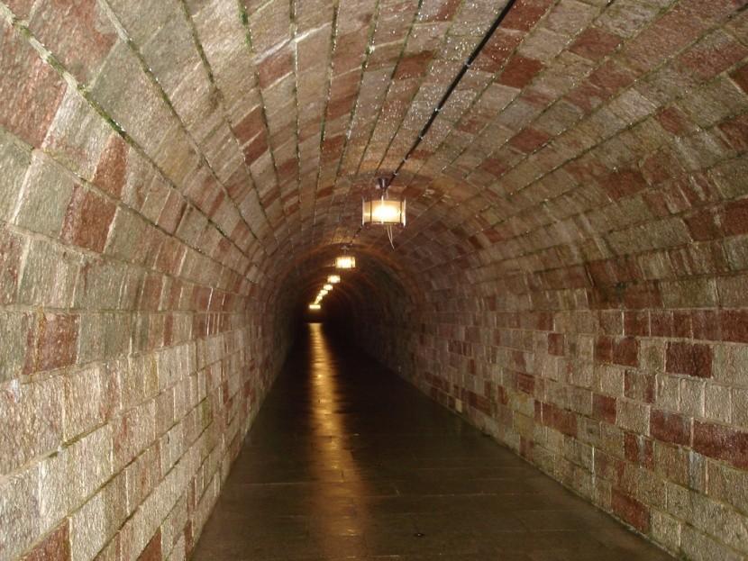 Tunel pod Orlím hnízdem