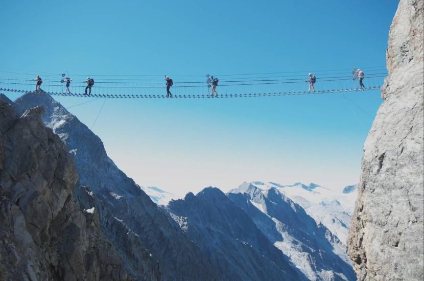 Ferrata Sentiero dei Fiori, Italské Alpy