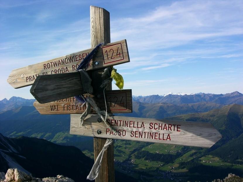Via Ferrata Alpiniweg, Italské Dolomity