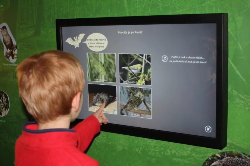 Interaktivní expozice Domu přírody