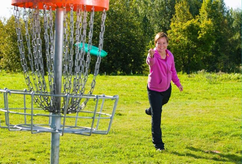 Frisbee neboli DiscGolf