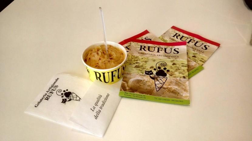Jablečná zmrzlina u Rufuse