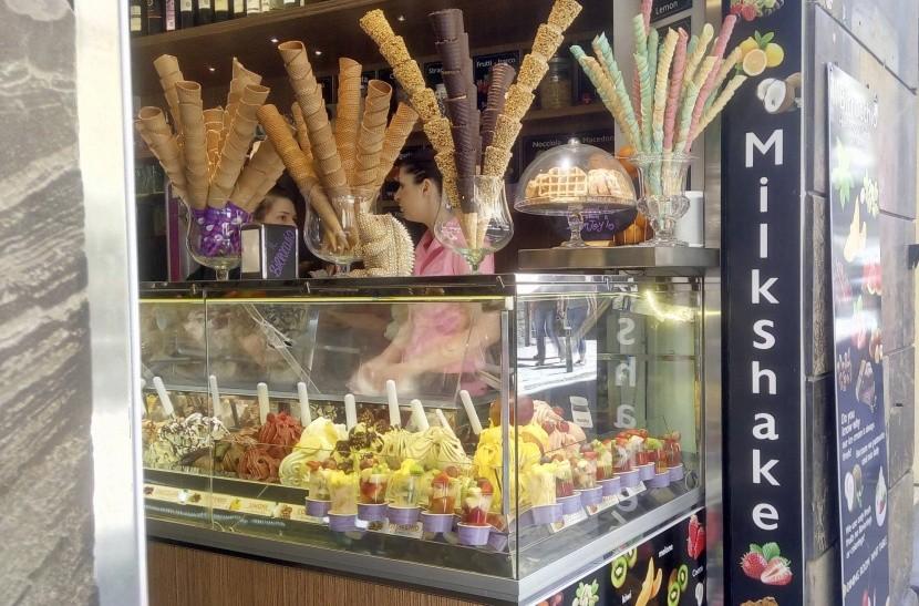 Cukrárna ve Florencii