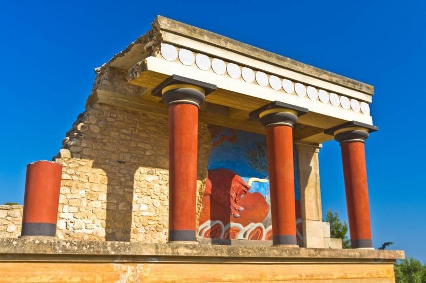 Palác Knossos, Kréta
