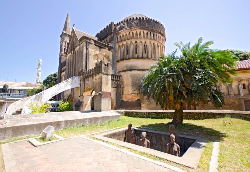 Katedrála a památník otroctví