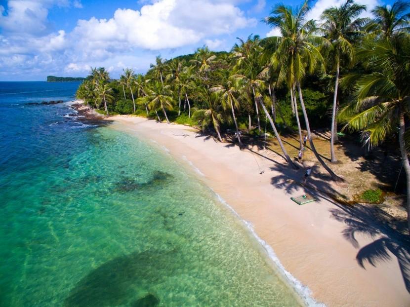 Ostrov May Rut nedaleko Phu Quoc